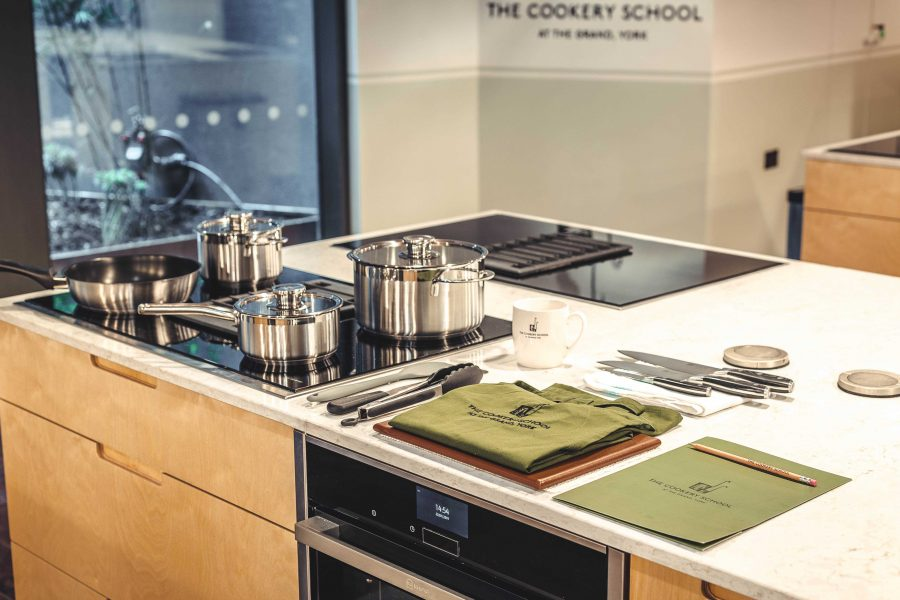 The Cookery School Work Station Setup