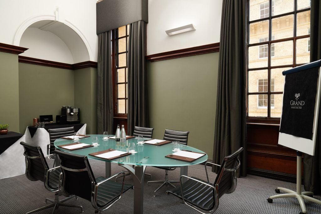 The Grand butterworth board room set up
