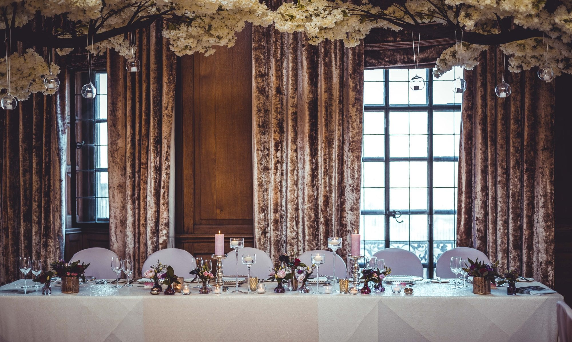 The Grand Wedding Head Table