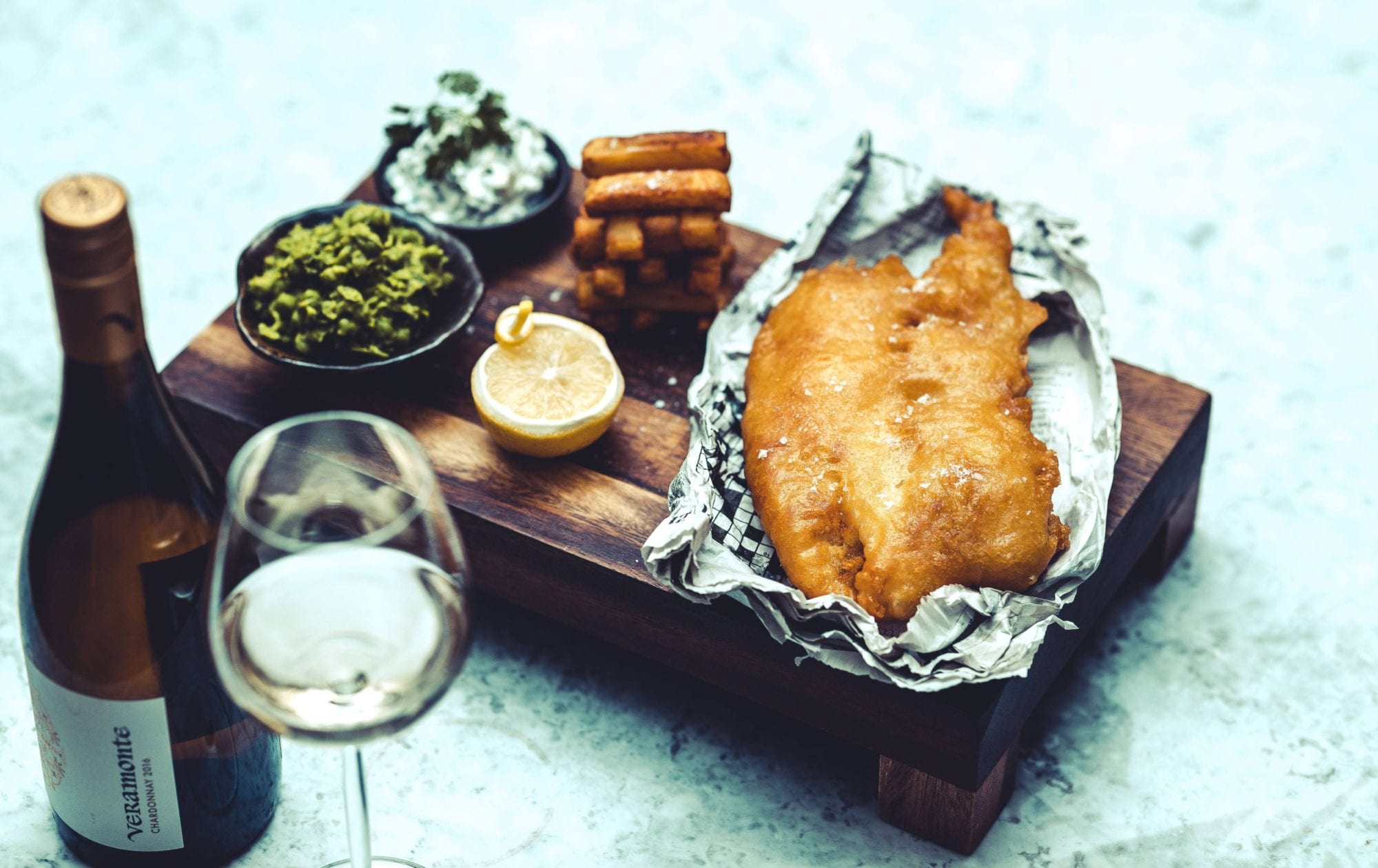 The Cookery School Fish & Chips
