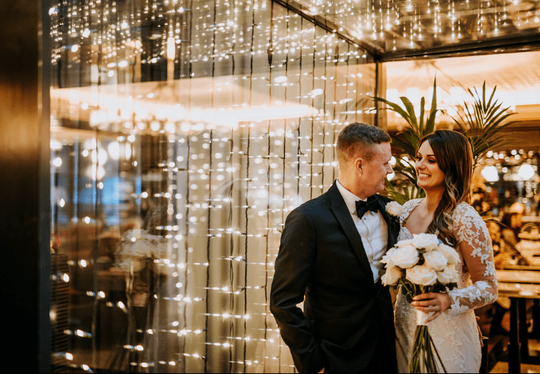 The Rise Wedding Lights