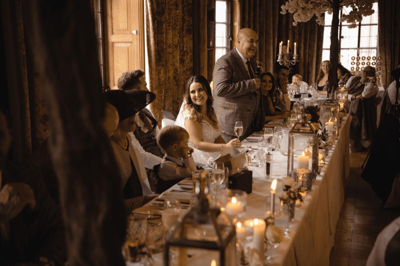 The Grand Wedding Speech