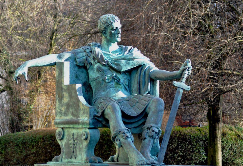 constantine statue York