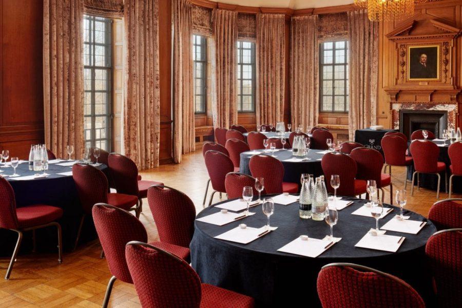 Grand Boardroom cabaret room set up - HERO - Copy